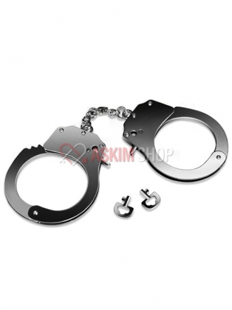 Fetish Pleasure Metal Handcuffs Metal Kelepçe