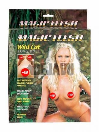 Magic Flesh Wild Cat Şişme Bayan